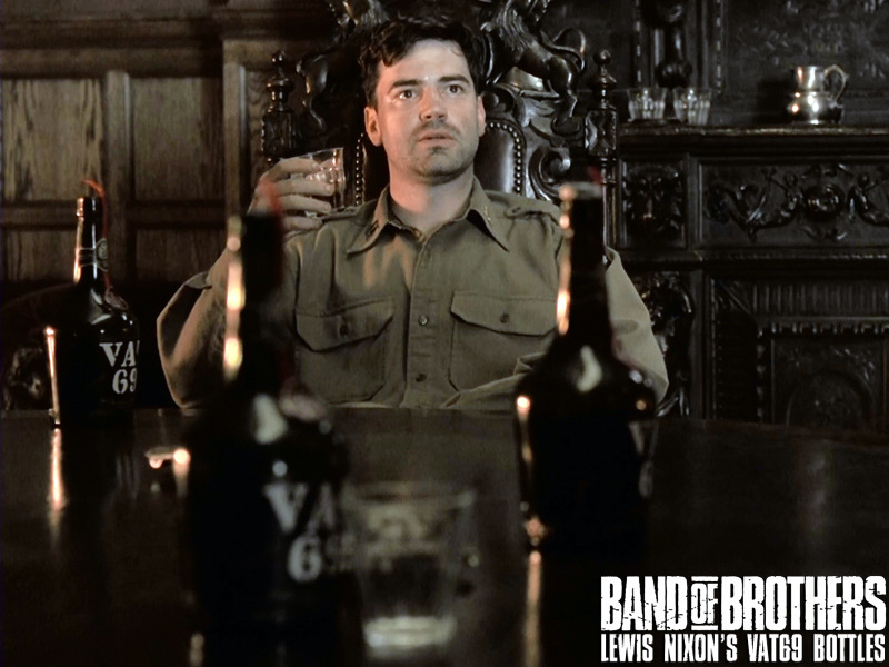 Still frame from movie, Band of Brothers.