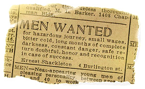 men wanted