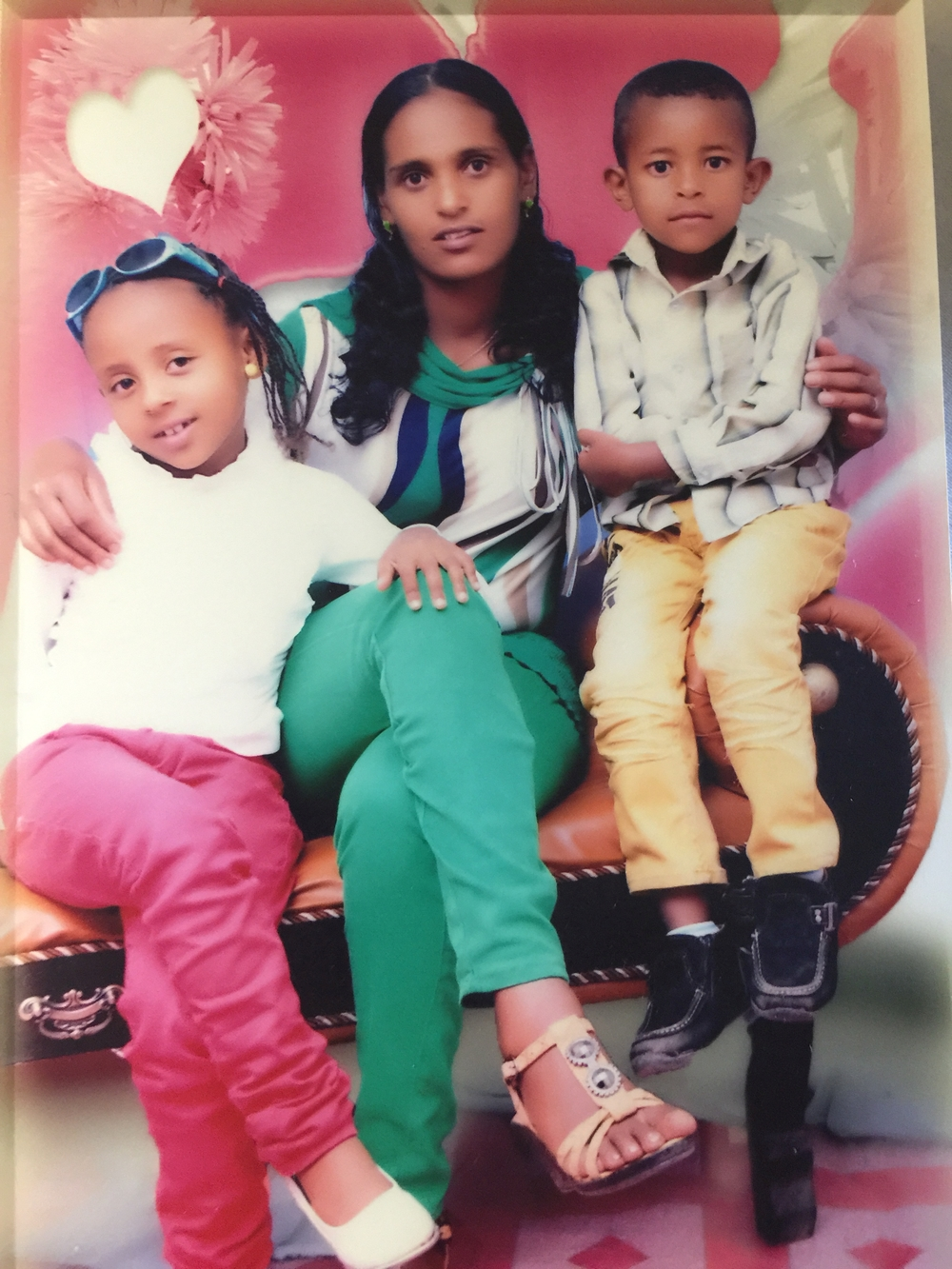 Selamawit, Meseret, and Yanet - they are living in Ethiopia and have been separated from their husband & father, Selegen, and son & brother, Miky, for 6 years.