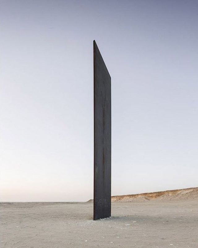 Thank you all for the love and support in 2018!  Landed in 2019 through a black hole ⚫️ .  #RichardSerra'sEastWest/WestEastbyNelsonGarrido