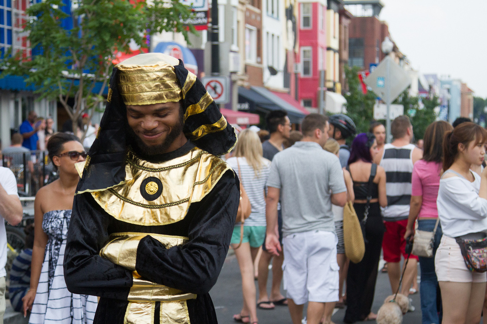 Cheeky Pharaoh  Washington, DC