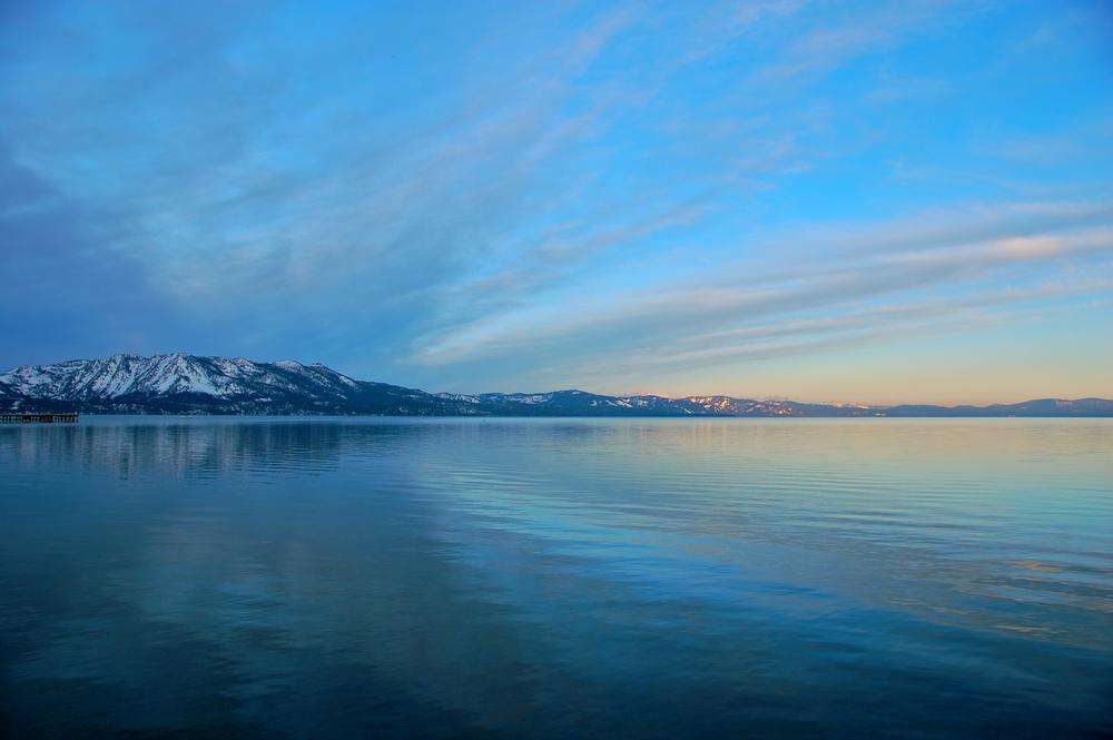 Lake Tahoe at Sunrise  Lake Tahoe, CA