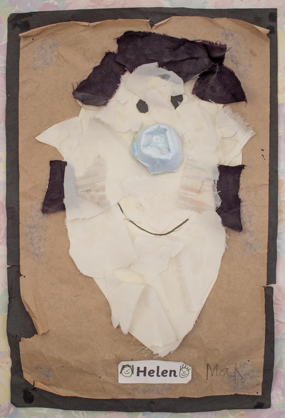 Self portraiture aged 5