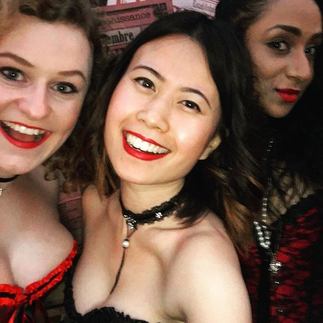 One of the best nights ever, thank you @secret_cinema, it was so much fun! #moulinrouge #societyoflove #montmartre