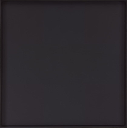 Ad Reinhardt. Abstract Painting. 1963.