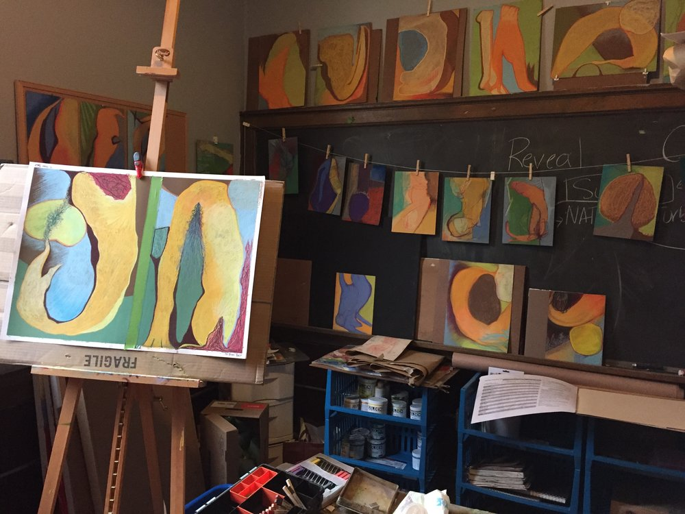 Studio of Kathy Donovan in Utica New York