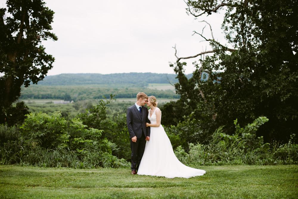 Christi & Brian // Menomonie Wedding Photographer