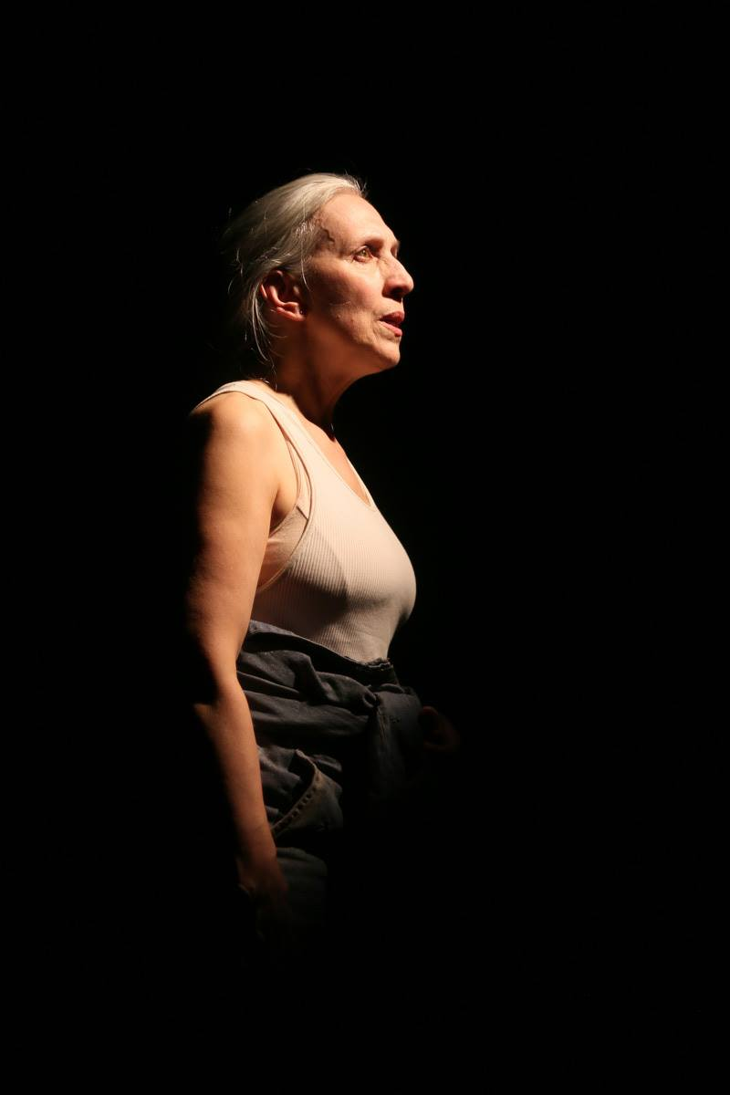 Marty Mukhalian in  The Great Inconvenience  at Annex Theatre, 2018 / Photo by Ian Johnston