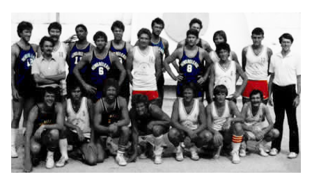 The first News Release Basketball team in 1972