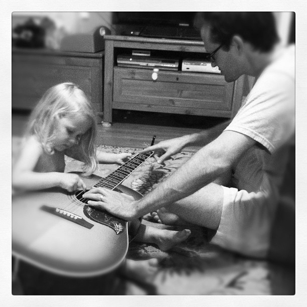 First lesson (Taken with  Instagram )