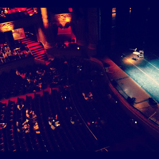 Radio Lab Live + Demitri Martin = heaven! (Taken with  Instagram  at Academy of Music)