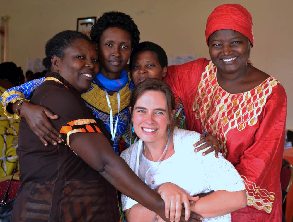 From 2014 trip – Community of Practice with some incredibly wise and all-around beautiful Rwandan women