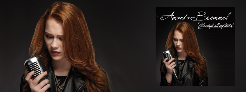 AMANDA BROMMEL  debuts with her single 'Through All My Tears' - CLICK HERE TO LISTEN