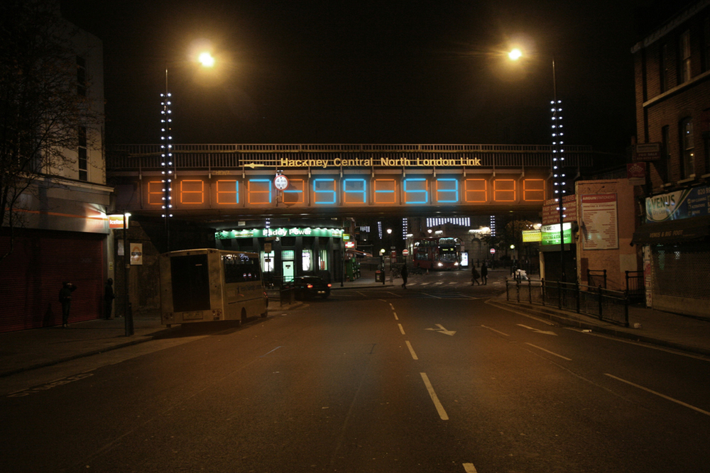 Hackney Central Overground Bridge
