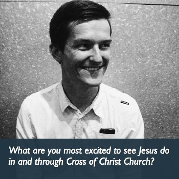 """""""I'm excited to hear the truth about Jesus and to see people meet Jesus and become part of God's family!"""" -Ben"""