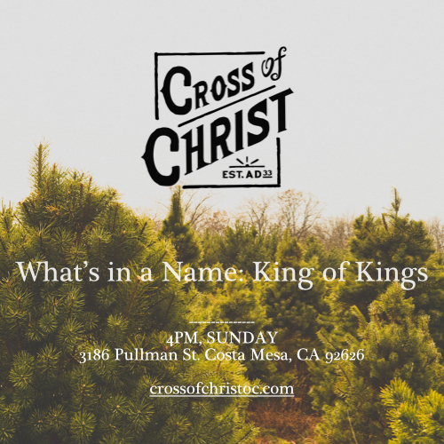 Who is the king of your life? Why is Jesus a better king? Hope you'll join us this Sunday!