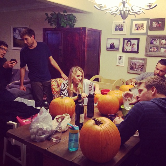 Pumpkin Carving Night in Community Group