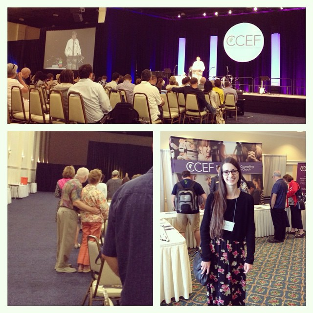 One of our folks got to attend the CCEF conference in San Diego to learn how to help people struggling with loss.