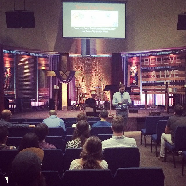 Dr. Petitfils from Biola University did an amazing job at our Fall church history seminar. We're so thankful for his scholarly brain and pastoral heart. Can't wait for the next one!
