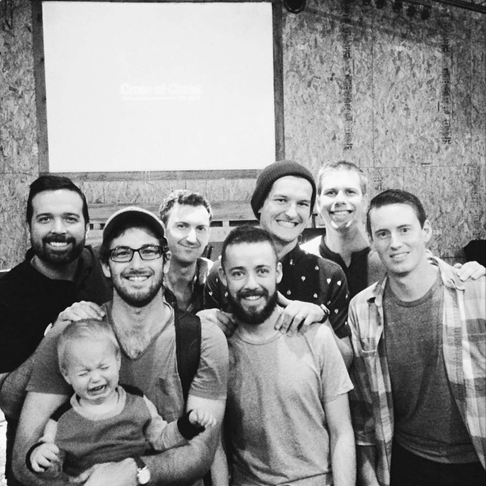 Alumni from Men's Training Camp Round One, many of whom are now serving in and leading various ministries at Cross of Christ.