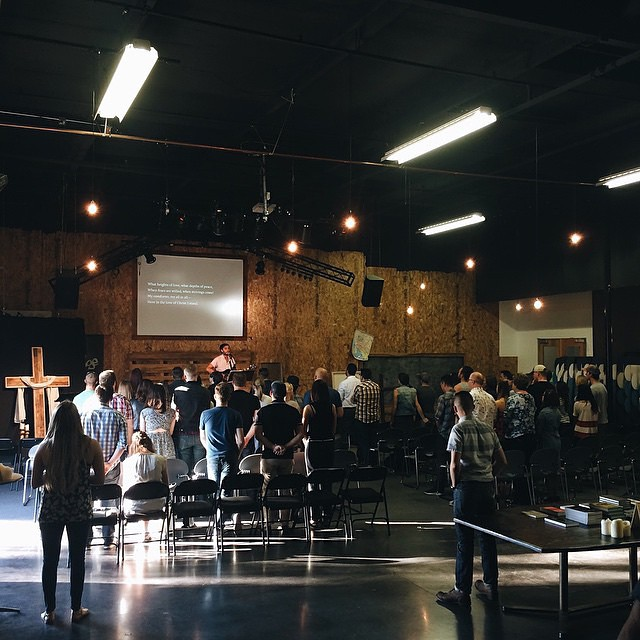 "From Pastor Nick, ""Full day of training leaders, planning the next month with our team & worshipping with Cross of Christ OC. Highlight was hearing two deacon candidates point another back to the Gospel in our meeting. My heart is full."""