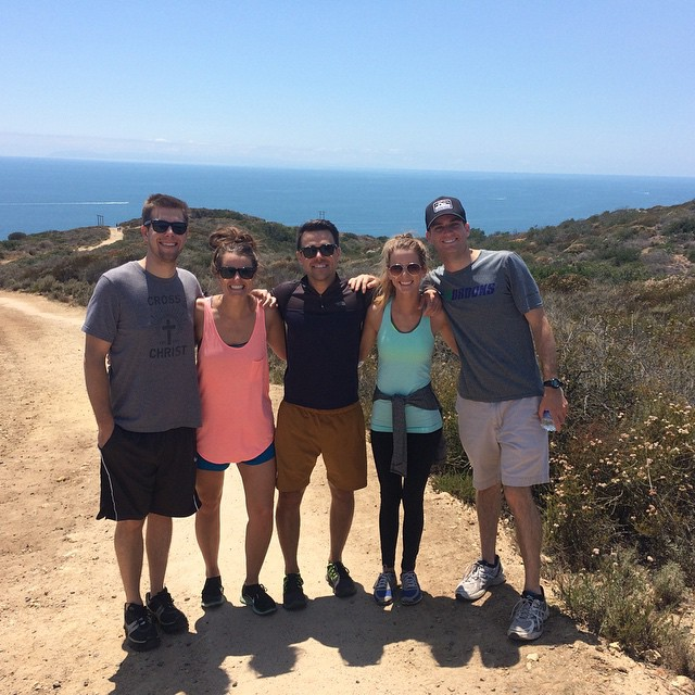 Members of our Costa Mesa CG went hiking together this past month.