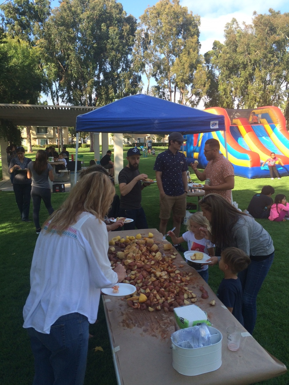Irvine CG hosting their 2nd Annual Low Country Boil