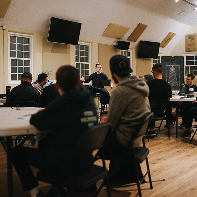 Our first Men's & Women's Gatherings of the year were this week. As a congregation, we love to gather together regularly for teaching, worship, and friendship in our Men's and Women's Gatherings. We also scatter weekly to grow together through the Word, prayer, and applying the Gospel to one another's lives through Discipleship Groups. - Our women looked at the themes of sin, suffering, weakness and damage and the men looked at what it means to live inside or God's story.