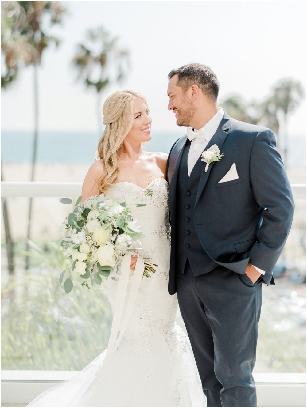 Tiato Santa Monica Wedding | Stephanie & Jason — California Fine Art ...