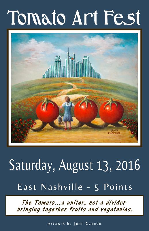 2016 Tomato Art Fest Poster