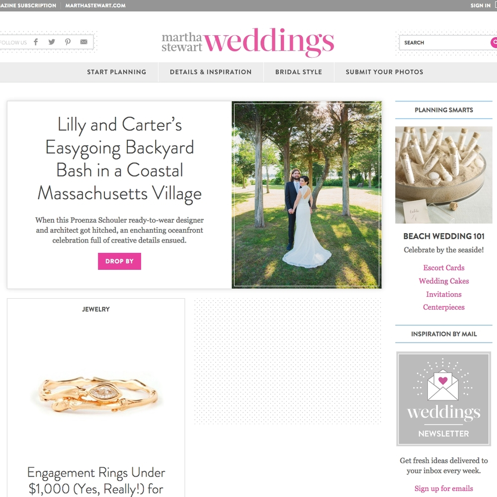 Martha Stewart Wedding