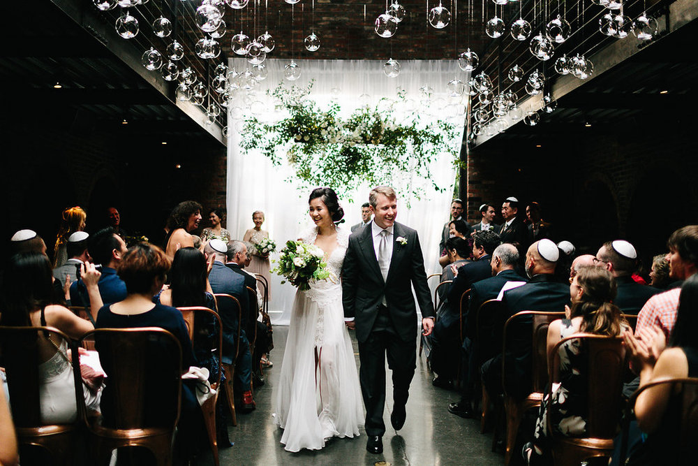 Best New York City Wedding Planner Jove Meyer creates a spectacular wedding at The Foundry!