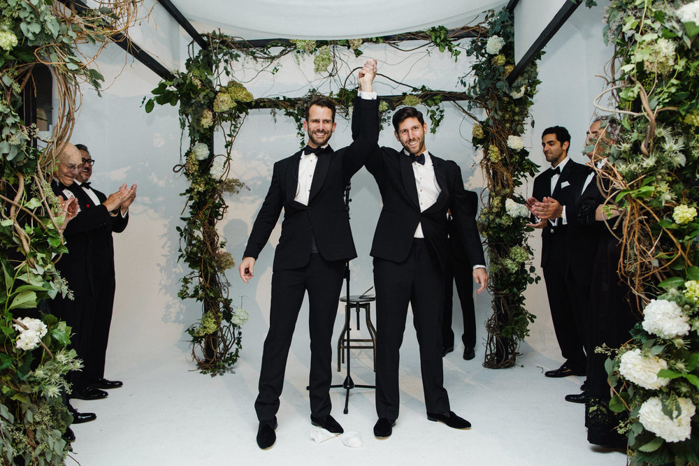 Jove Meyer, The Best Gay Wedding Planner NYC, had a great time creating this same sex bash!