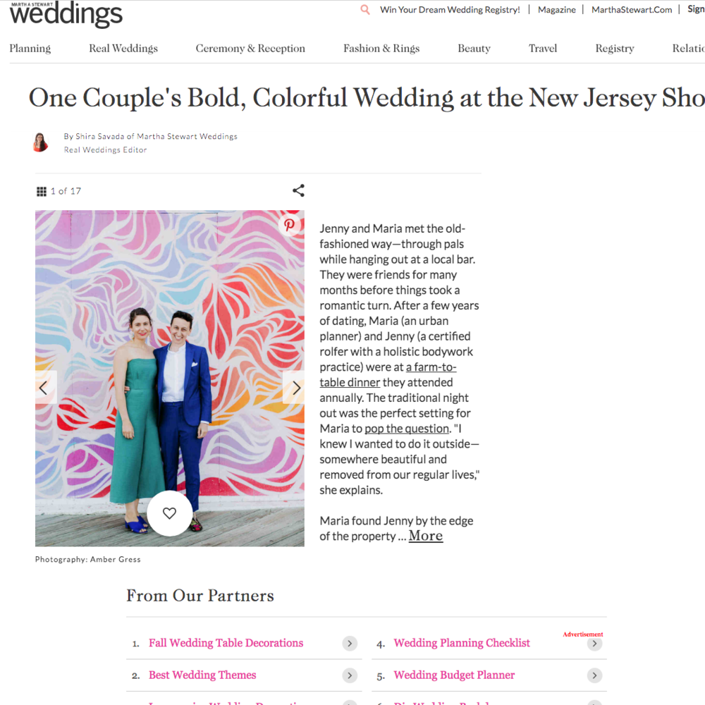 best gay wedding planner jove meyer featured in martha stewart