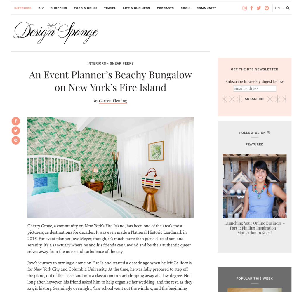 designer jove meyer featured in design sponge