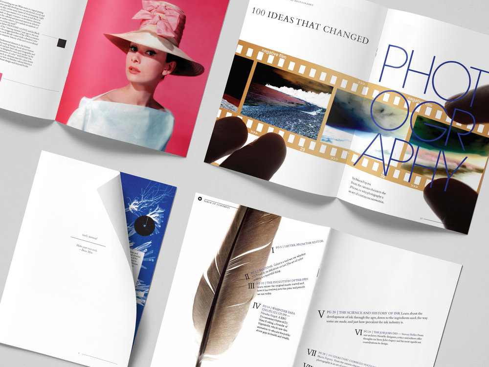 Editorial Layout  |  Books + Print Material