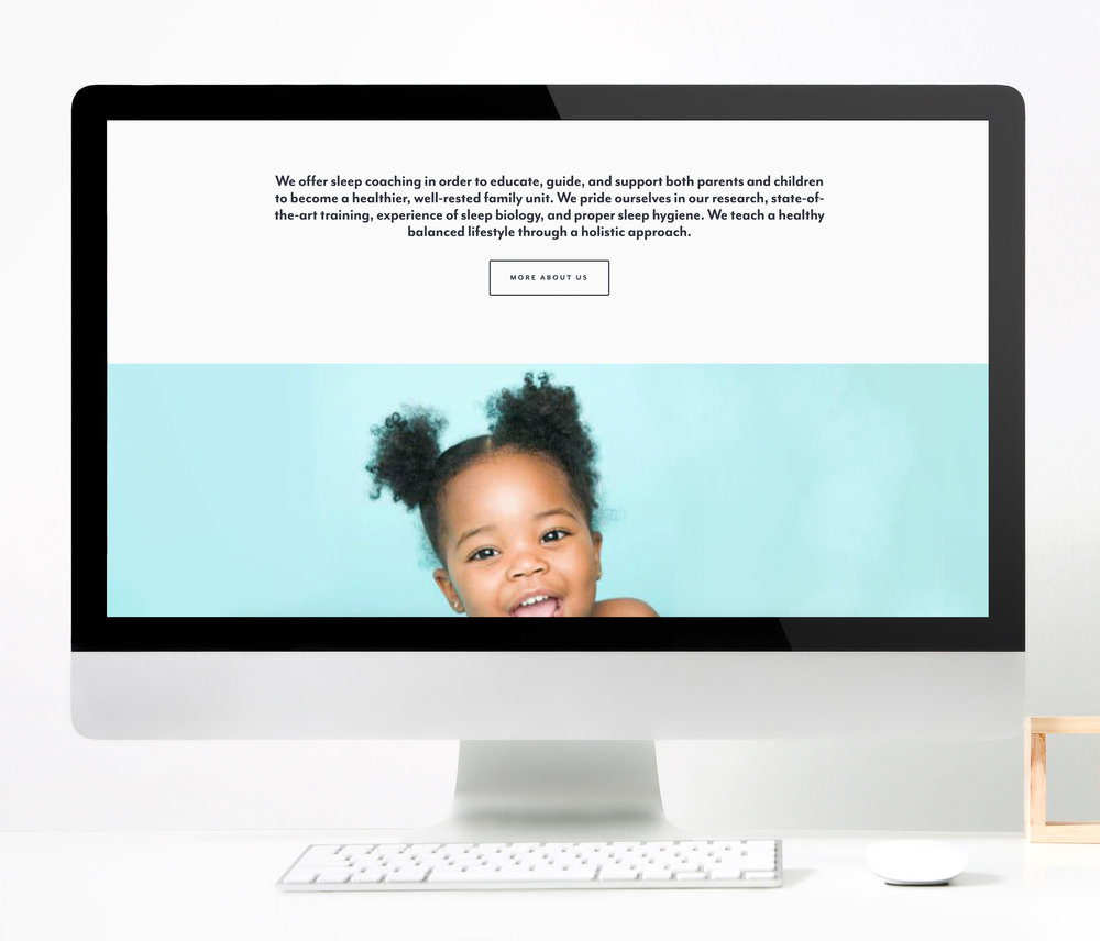 Dream Little Dreamer  |  Website Layout
