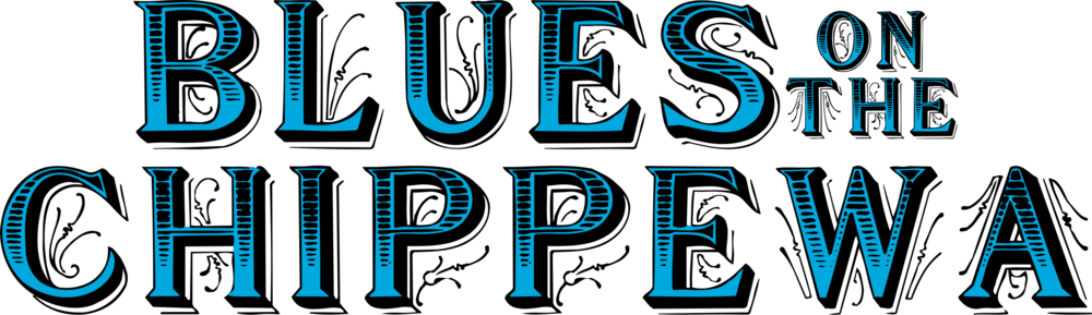 Blues on the Chippewa Square logo.  High-res transparent png file