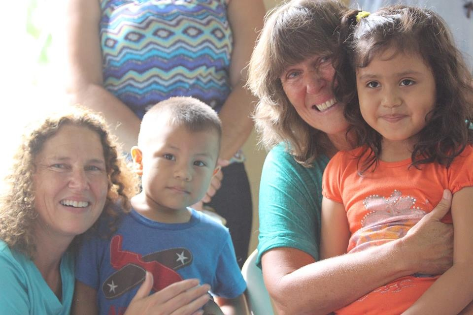 Jenny and Jill with Fanny's children: Stephanie and Ephriam