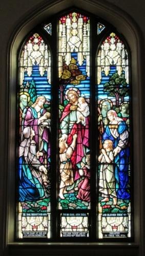 Christ Blessing Children