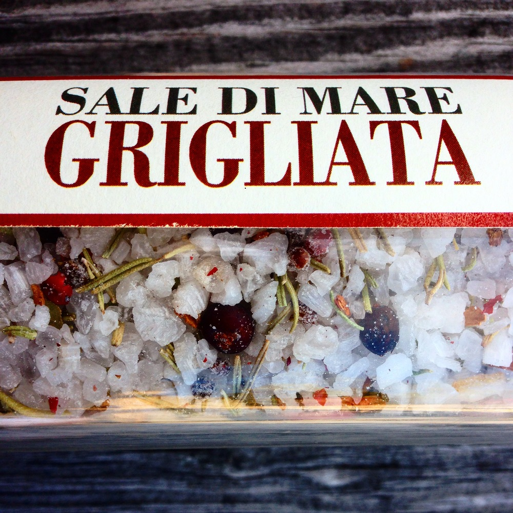 Sicilian Sea Salt with Juniper, Pink Pepper, Rosemary and Cinnamon