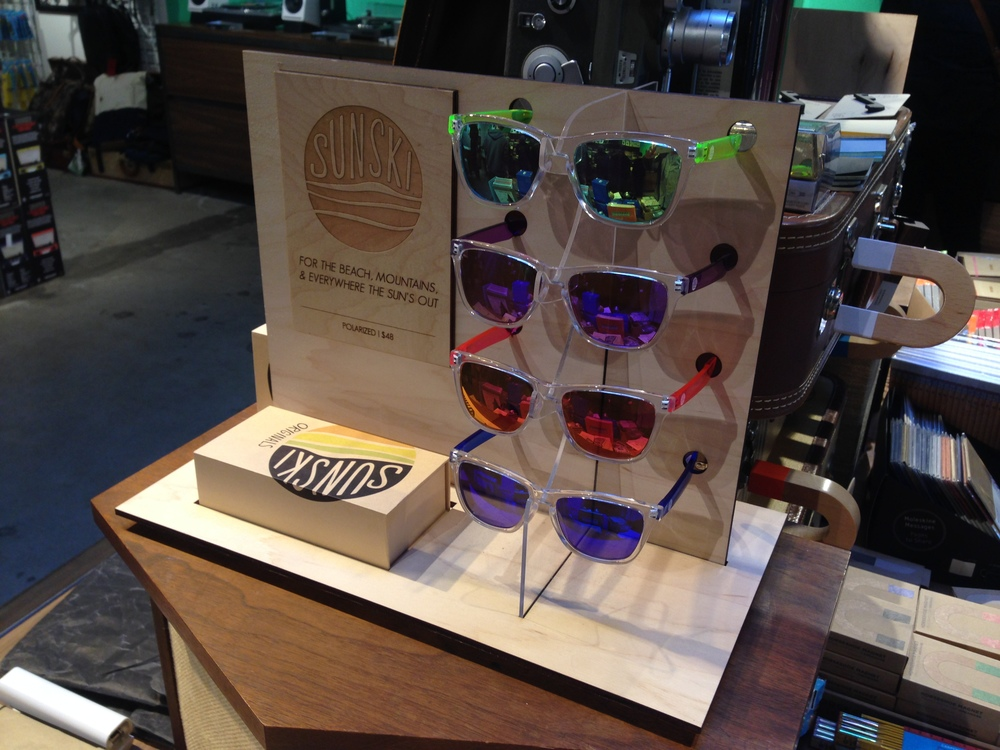 Custom Store Displays, Sunski
