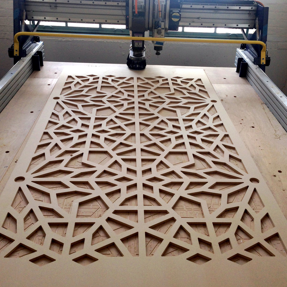 Milled Pattern, LMNOP