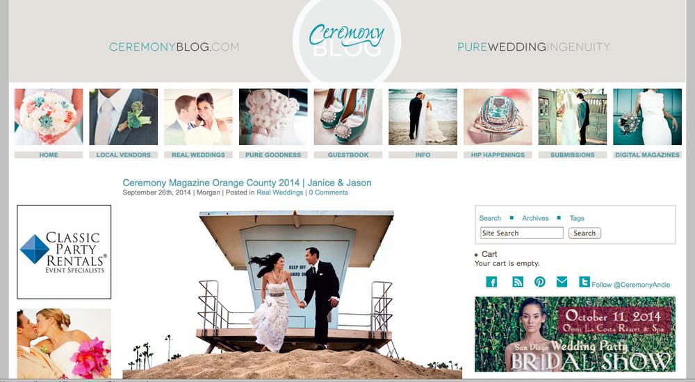 Ceremony Magazine Blog