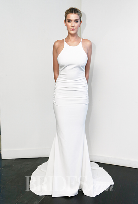 Nicole Miller, Fall 2015. Photo courtesy Brides.com