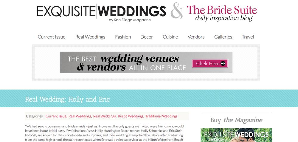 Exquisite Weddings Magazine Online