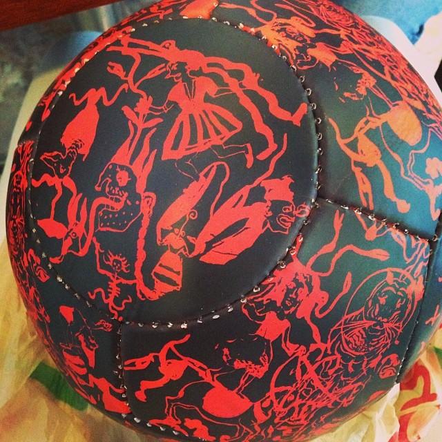 Sergio Hernandez soccer ball just arrived!!! #zmd39 #zonamaco #sergiohernandez