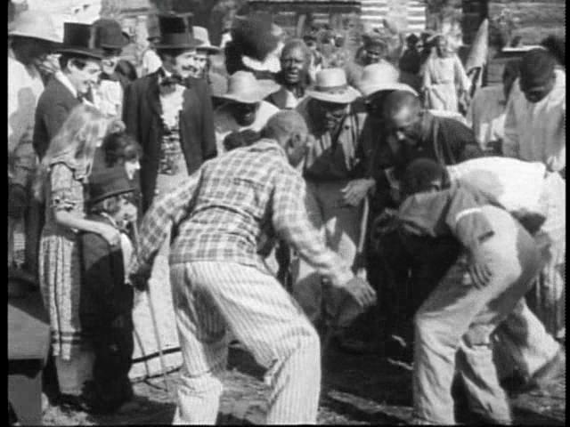 A dança dos escravos como espetáculo para os senhores
