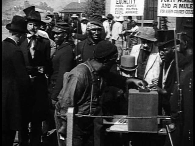 Os negros e a fraude nas eleições: primeiro voto