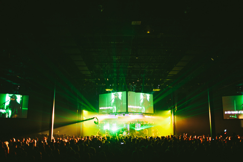 Crowder Neon Steeple Album Release Party | Passion City Church, Atlanta, GA Photo Credit: Bobby K. Russell